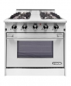 "NXRNXR 30"" Professional Range with Four Burners, Convection Oven  (DRGB3001)"