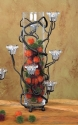 Bella ToscanaTall Vine Vase - 6 Candle