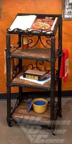 Bella ToscanaSiena Cookbook Holder- Floor