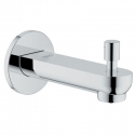 Grohe13287000 BauLoop bath spout w/diverter in Chrome