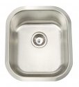 ArtisanArtisan AR1618-D8 Premium Series 16 Gauge Stainless Steel Undermount Single Bowl Sink