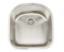ArtisanArtisan AR2120-D9 Premium Series 16 Gauge Stainless Steel Undermount Single Bowl Sink