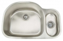ArtisanArtisan AR3121-D9/5 Premium Series 16 Gauge Stainless Steel Undermount Double Bowl Sink