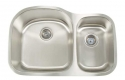 ArtisanArtisan AR3220-D9/7 Premium Series 16 Gauge Stainless Steel Undermount Double Bowl Sink