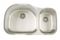 ArtisanArtisan AR3521-D9/7 Premium Series 16 Gauge Stainless Steel Undermount Double Bowl Sink