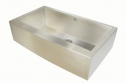 ArtisanArtisan  CPAZ3621-D10 Chef Pro 16 Gauge Stainless Steel Apron Front Sink